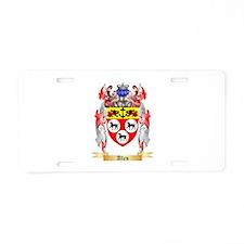 Allen Aluminum License Plate