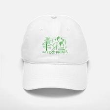 Leave Nothing but Footprints Green Baseball Baseball Cap