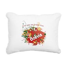 RETRO BOLIVIA 0.png Rectangular Canvas Pillow