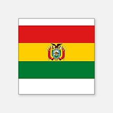 "BOLIVIA 12 LIMPIO.png Square Sticker 3"" x 3"""