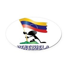VENEZUELA MAN 0.png Oval Car Magnet