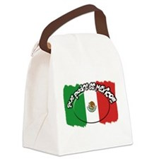 mexico que padre es.png Canvas Lunch Bag