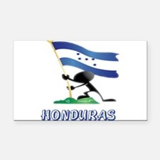 HONDURAS MAN 0.png Rectangle Car Magnet