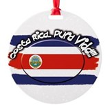 Costa rica Round Ornament