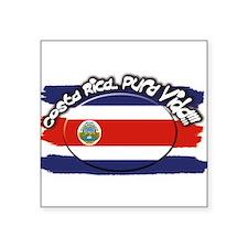 """Costa Rica pura vida Square Sticker 3"""" x 3"""""""