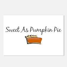 Sweet As Pumpkin Pie Postcards (Package of 8)