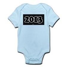 2013 License Plate Infant Bodysuit