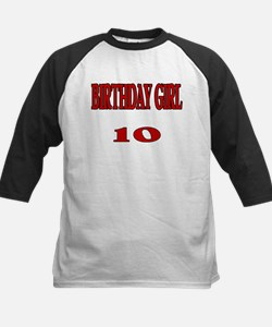 Birthday Girl 10 Tee