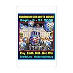 Earth Ball Unite Us All Mini Poster Print