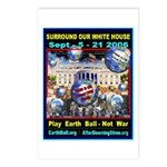 Earth Ball Unite Us All Postcards (Package of 8)