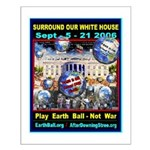 Earth Ball Unite Us All Small Poster