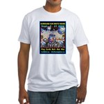 Earth Ball Unite Us All Fitted T-Shirt