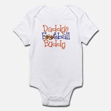 Unique and Funny Daddy's Football Buddy Cute Baby