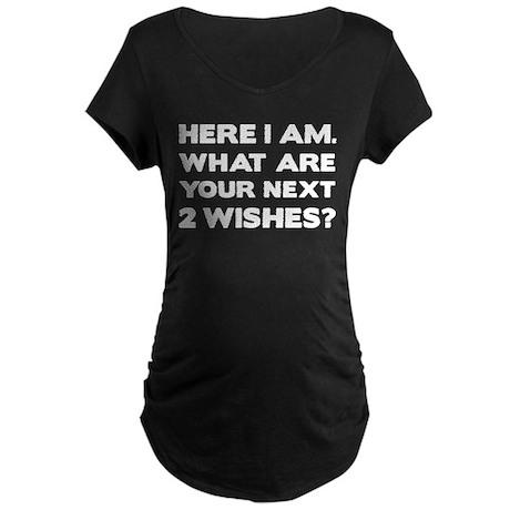 Here i am Maternity Dark T-Shirt