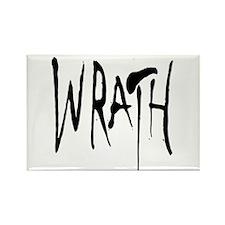 Wrath Rectangle Magnet