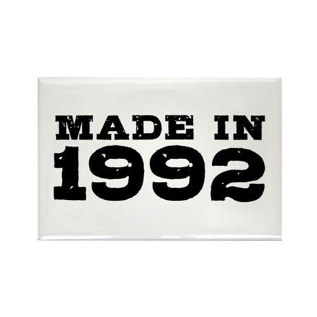 Made In 1992 Rectangle Magnet