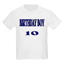 Birthday Boy 10 Kids T-Shirt