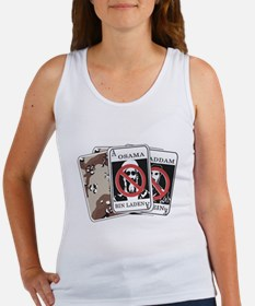 Military Playing Cards Women's Tank Top
