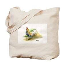 Mean Rooster Tote Bag