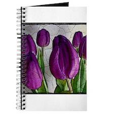 Purple Tulips Journal