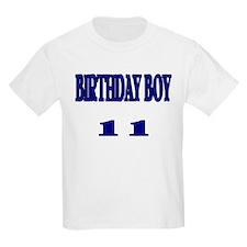 Birthday Boy 11 Kids T-Shirt
