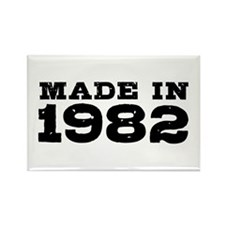 Made In 1982 Rectangle Magnet