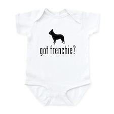 French Bulldog Infant Creeper