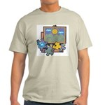 Jigsaw Puzzle Ash Grey T-Shirt