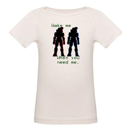 wakemewhenyouneedme Organic Baby T-Shirt