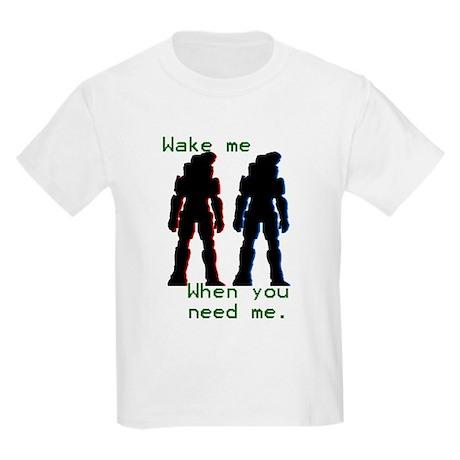 wakemewhenyouneedme Kids Light T-Shirt
