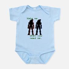 wakemewhenyouneedme Infant Bodysuit