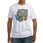 Jigsaw Puzzle Fitted T-Shirt