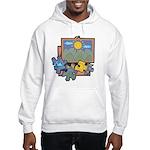Jigsaw Puzzle Hooded Sweatshirt