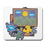 Jigsaw Puzzle Mousepad