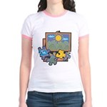 Jigsaw Puzzle Jr. Ringer T-Shirt