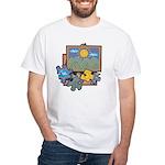 Jigsaw Puzzle White T-Shirt