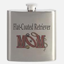 Flat-Coated Retriever Mom Flask