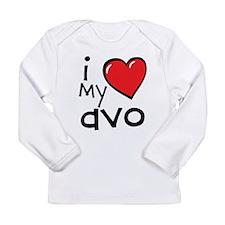 I Love My Avo Long Sleeve Infant T-Shirt
