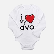 I Love My Avo Long Sleeve Baby Bodysuit