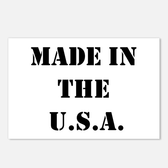 Cool Made in usa Postcards (Package of 8)