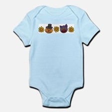 Sunflowers And Heads Infant Bodysuit