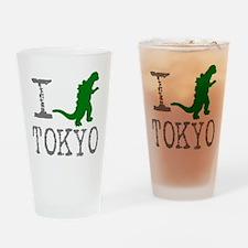 I Godzilla TOKYO (original) Drinking Glass