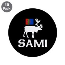 """Sami, the People of Eight Seasons 3.5"""" Button (10"""