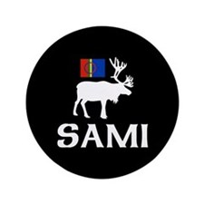 "Sami, the People of Eight Seasons 3.5"" Button"