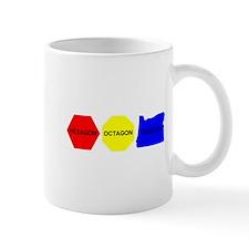 Hexagon, Octagon, Oregon Mug