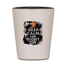 RSD Keep Calm and Fight On Shot Glass