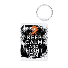 RSD Keep Calm and Fight On Aluminum Photo Keychain