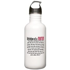 Definition of a nurse Sports Water Bottle