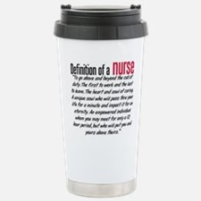 Definition of a nurse Thermos Mug