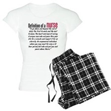 Definition of a nurse pajamas